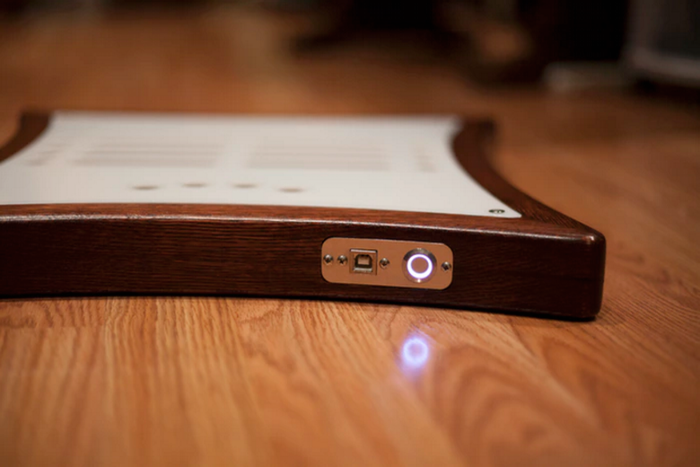 """Mune: """"Our first production prototype with custom-designed touch sensors. At last!"""""""
