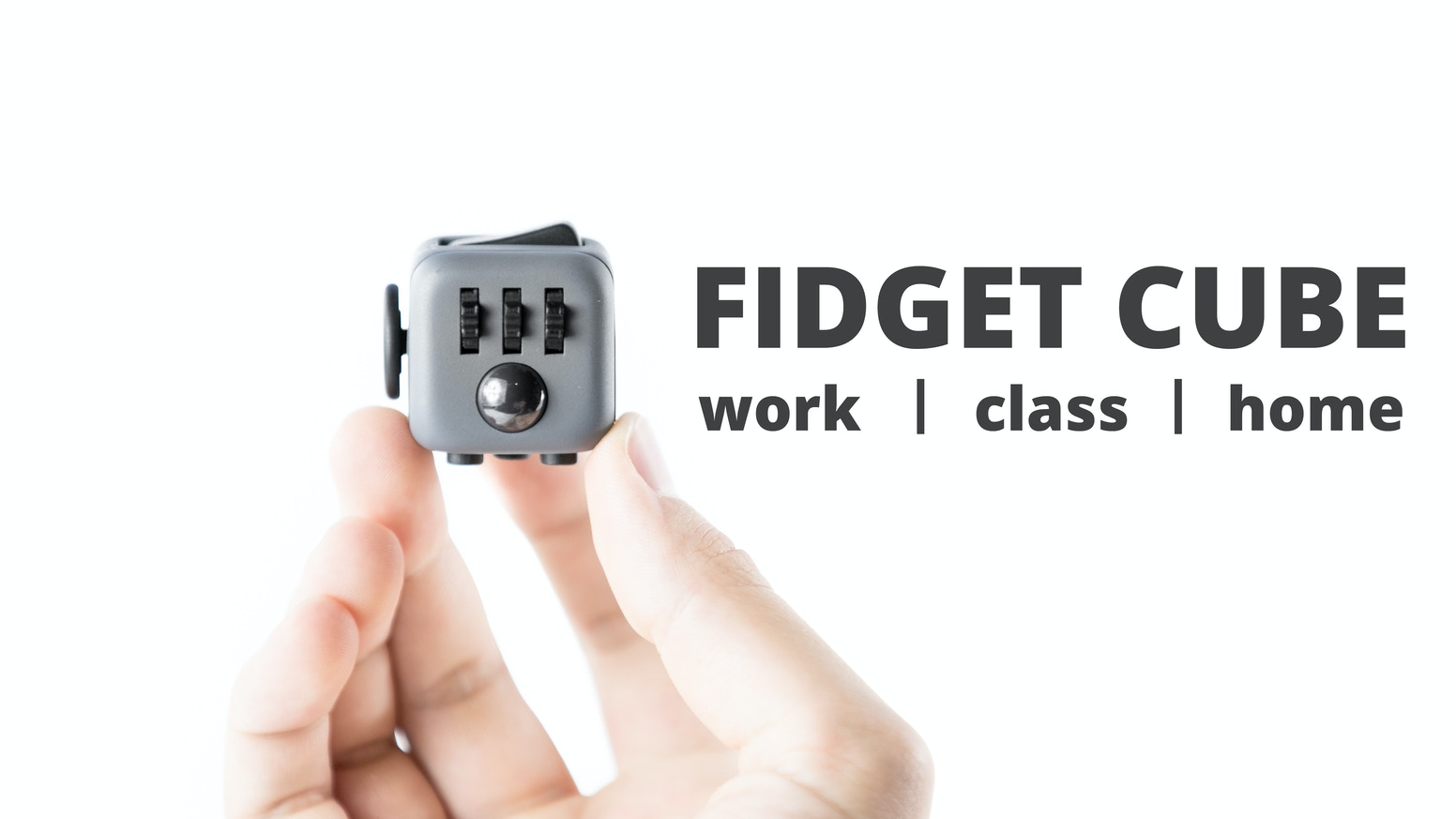 An unusually addicting, high-quality desk toy designed to help you focus. Fidget at work, in class, and at home in style.