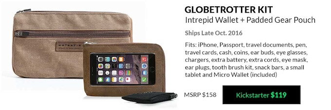 The Intrepid Travel Wallet For IPhone