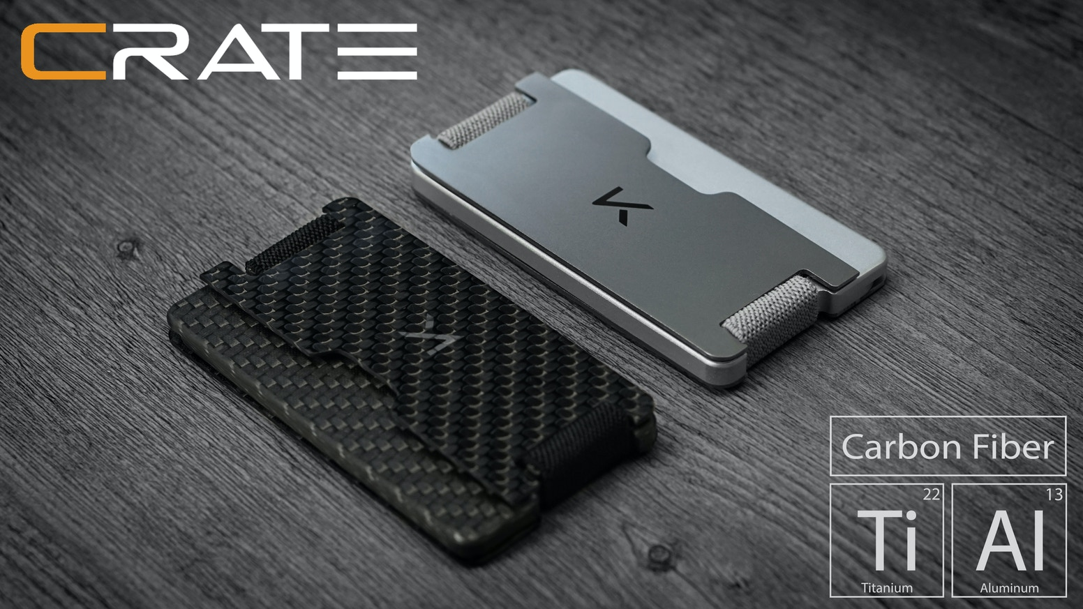 CRATE - Titanium | Carbon Fiber Multi-Mode Wallet by Narbeh Khoygani ...