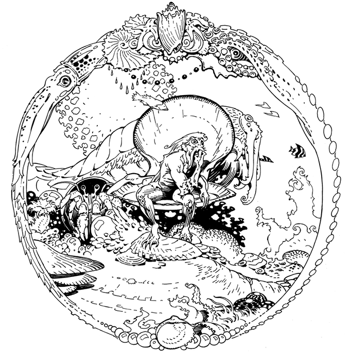 Sample Images From The Adult Coloring Book