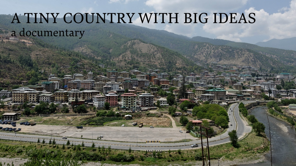 A Tiny Country with Big Ideas, A Documentary project video thumbnail
