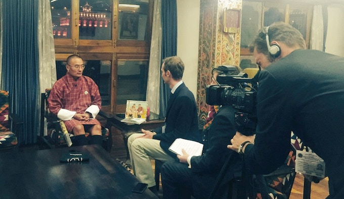 Interview with Tshering Tobgay, the Prime Minister of Bhutan