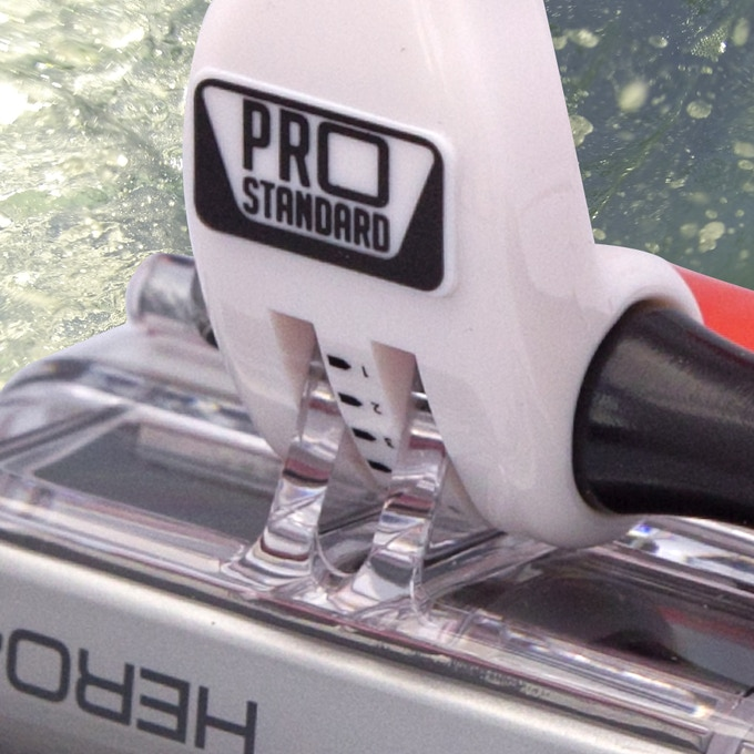 Cam Perfect Markings debuted on Pro Standard's first product, the revolutionary Grill Mount
