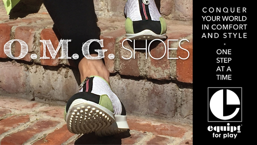 O.M.G. | Blissful Comfort Meets Sleek Style In A Street Shoe project video thumbnail