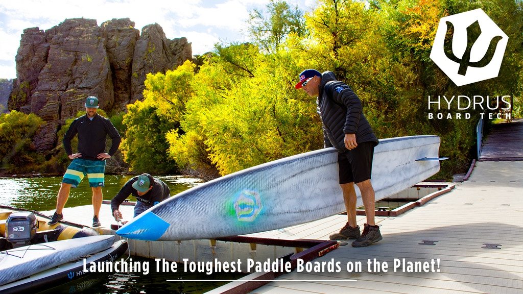 Hydrus | The World's Toughest Paddle Boards project video thumbnail