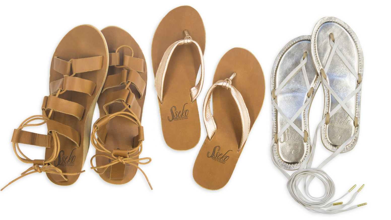 Customize your very own leather sandals, while giving a woman across the world the opportunity to pursue her dreams!