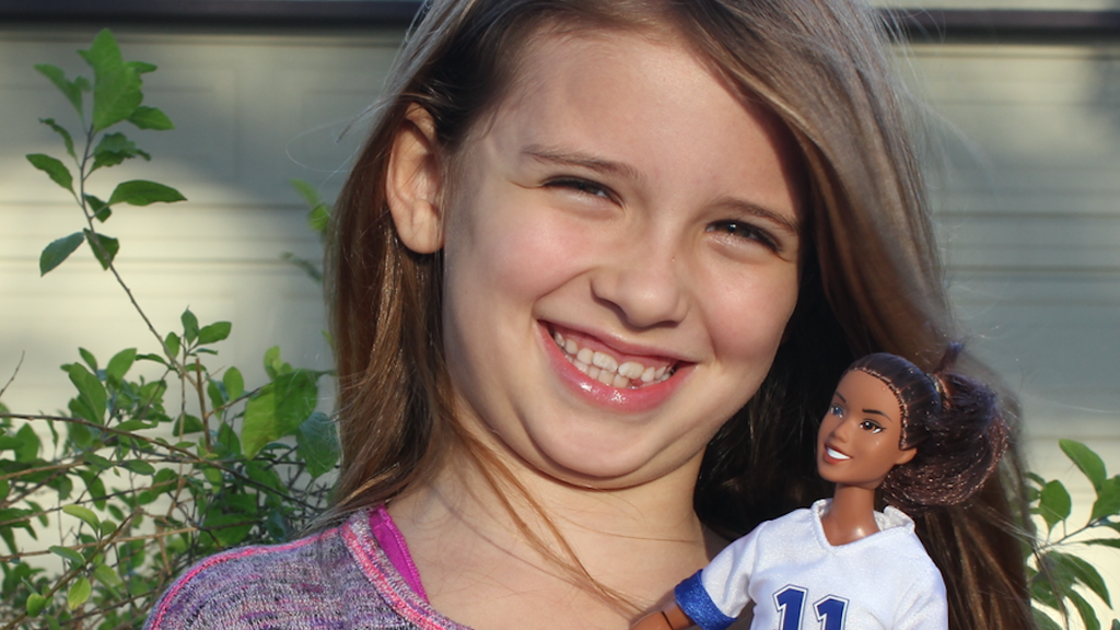 Get Real Girl: Sport action figures/dolls empowering girls project video thumbnail