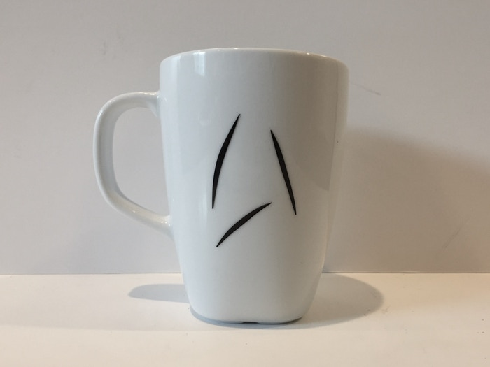 Seen In The Latest Star Trek Film Captain Kirk Uses This Starfleet Issue Coffee Mug