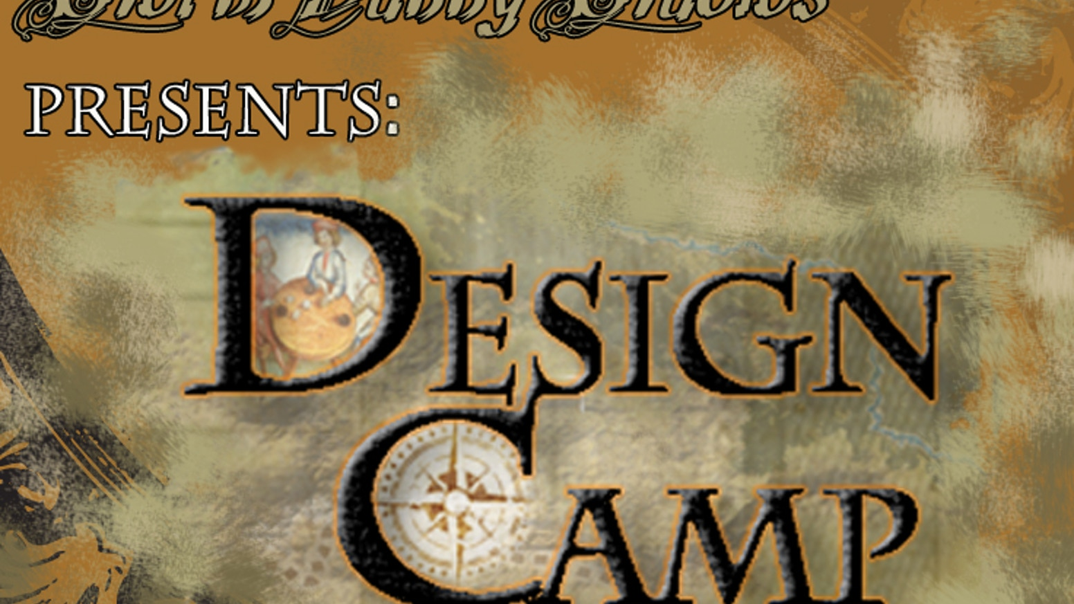 Design Camp is a hands-on look behind the scenes of the RPG design process. Designers, working with backers, create a final manuscript.