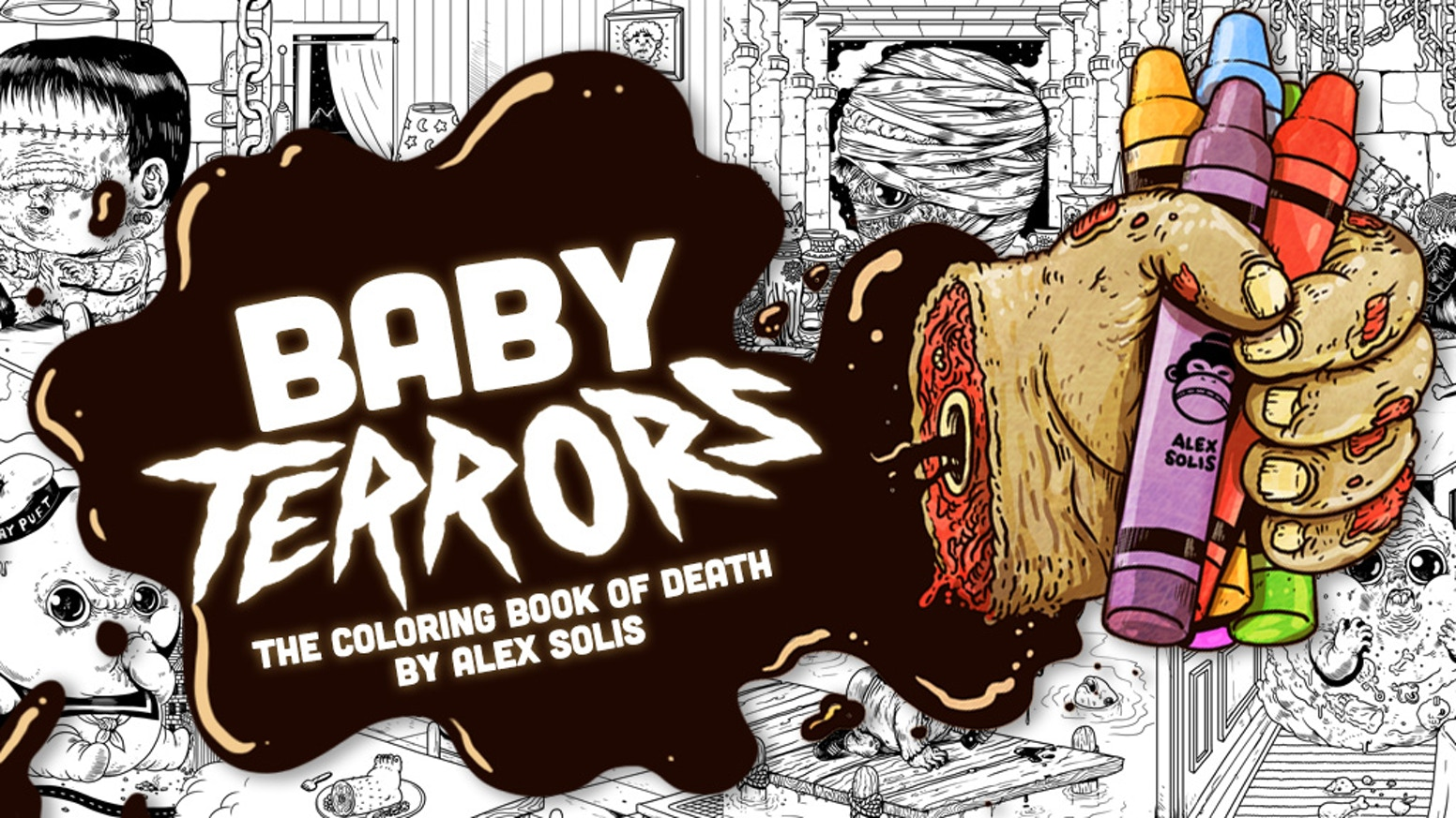 Baby Terrors Coloring Book