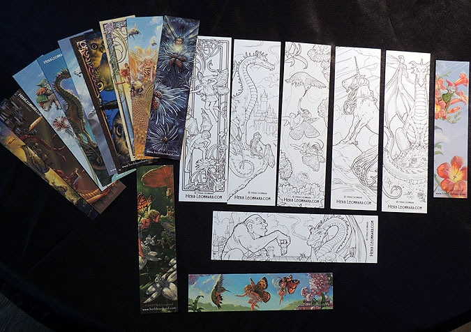 All our book marks!