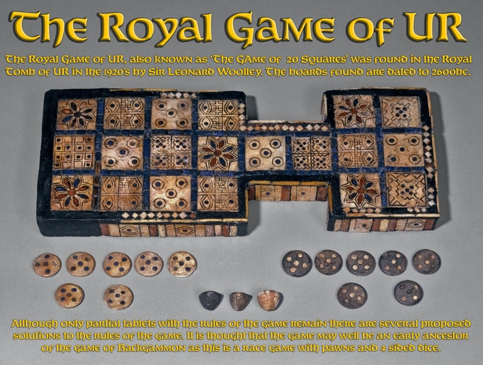 Game of Ur - Curated at the British Museum