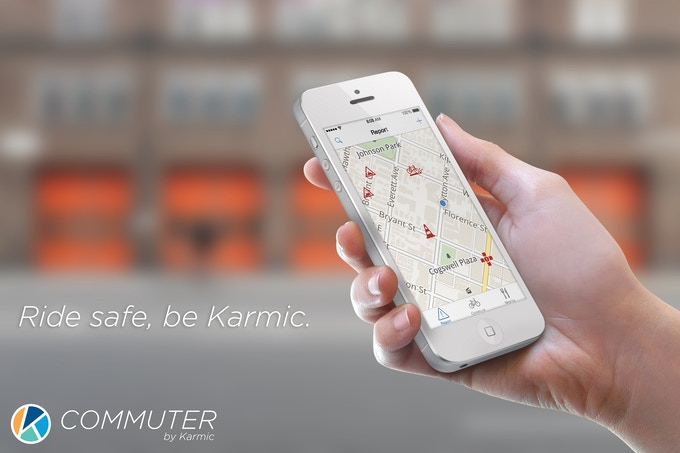 We are safer when we ride together. Be Karmic.