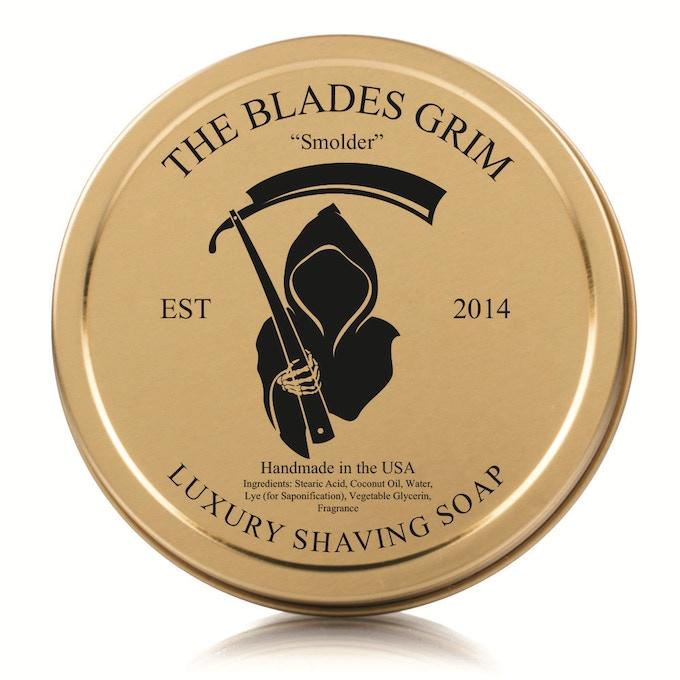 The Blades Grim - Smolder Shave Soap