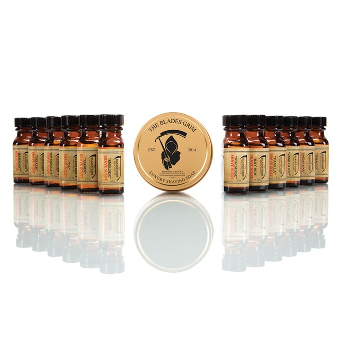 12 Pack Alchemist Shave Scent Package
