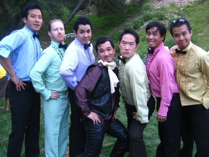 Pictured left to right: Jun Kim, Brent Tonick, Joe Ho, Eddie Mui, Charles Kim, John Fukuda, Trieu Tran