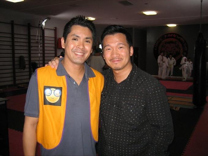 Eddie Mui (right)