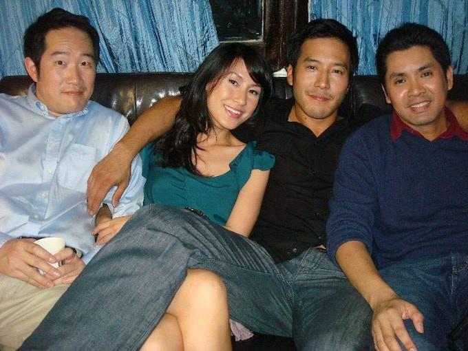 Pictured left to right: Charles Kim, Kathy Uyen, Jun Kim, Joe Ho