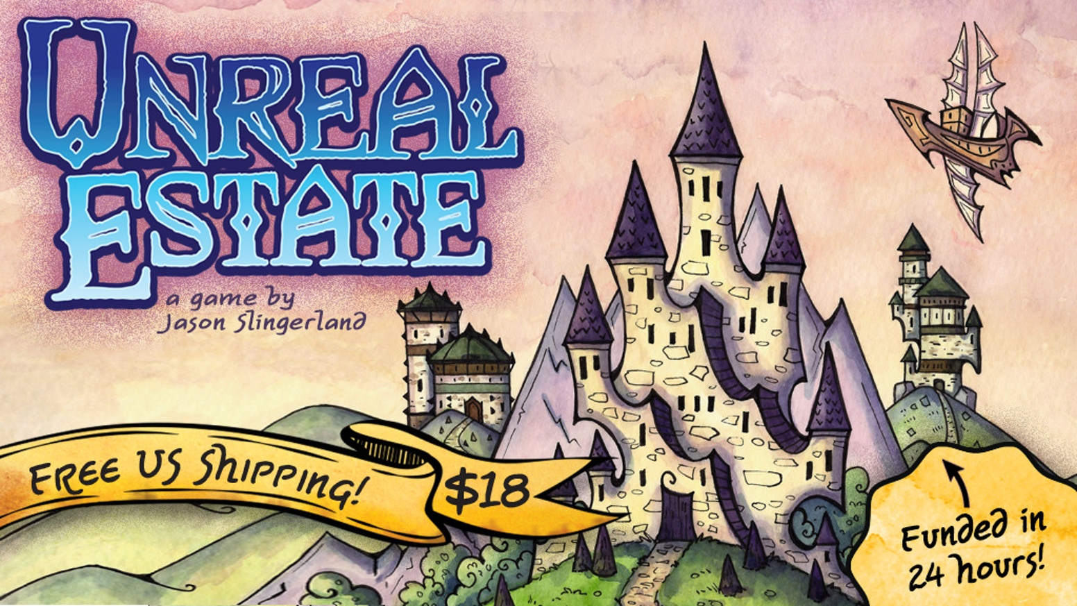 Prove your skills and fill the land with fantastical buildings through drafting, set collection, and timing in this 2-4 player game!