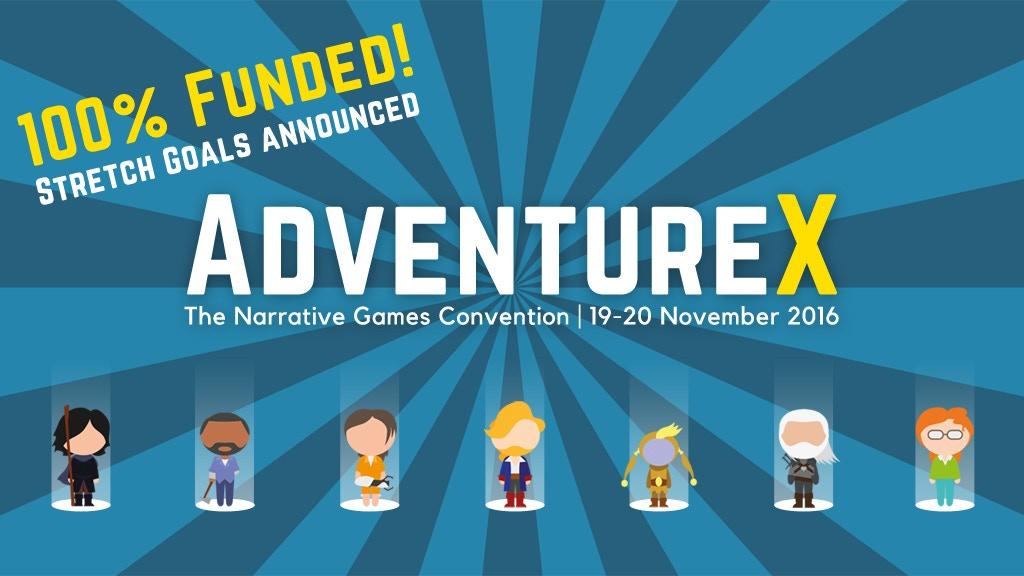 AdventureX 2016: The Narrative Games Convention project video thumbnail