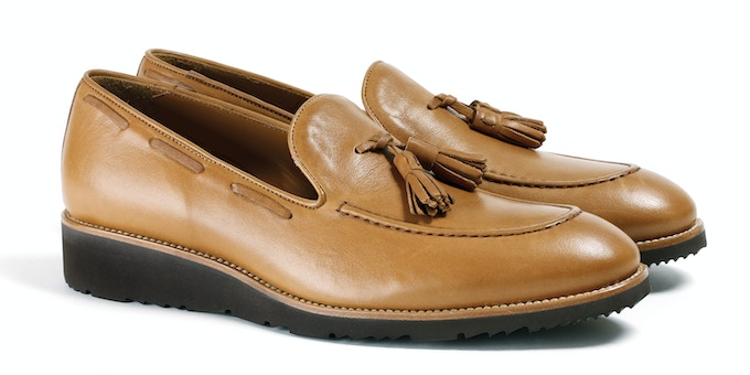 Men's Tan & Brown Loafer