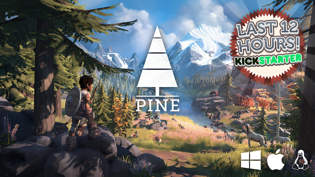 Pine - An action adventure game that adapts to you project video thumbnail