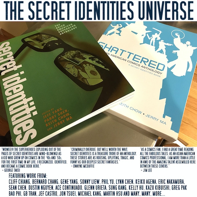 Secret Identities and Shattered Graphic Novels
