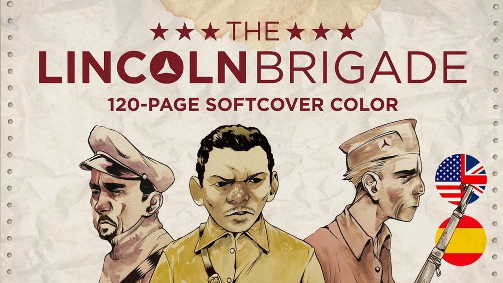The Lincoln Brigade miniatura de video del proyecto