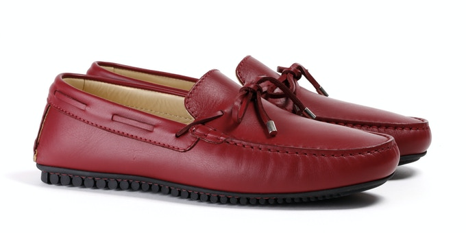Men's Oxblood Mocassin