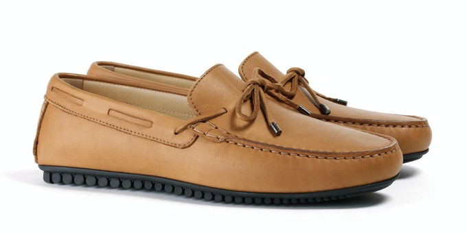 Men's Tan Mocassin