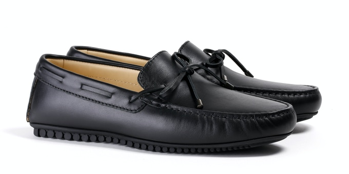 Men's Black Mocassin