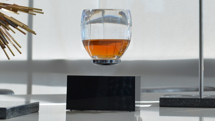 Gravity defying drinkware that will leave your guests in awe. Make your whiskey, cocktails, wine, beer, or coffee float above the rest.