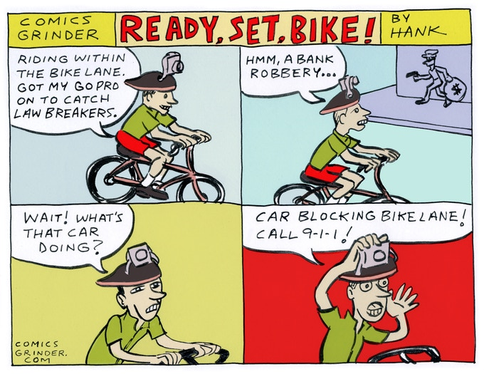 A Seattle Cyclist