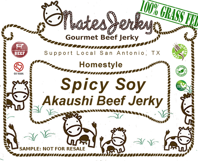 Spicy Sample Label