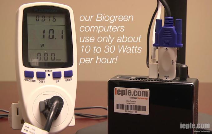 BioGreenPC Helping Environment