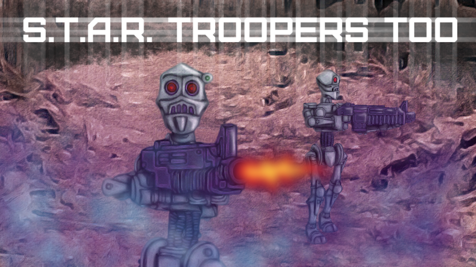 RBJ Game Company is back with S.T.A.R Troopers Too.  Table top white metal casting from Fortress Figures sculpted by Bobby Jackson.