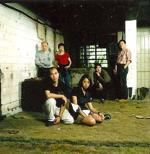 Founders of Para Site (From left to right) Patrick Lee, Leung Chi-wo, Phoebe Man Ching-ying, Sara Wong Chi-hang, Leung Mee-ping, Tsang Tak-ping (not in the picture, Lisa Cheung)