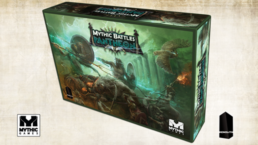 Mythic Battles: Pantheon miniatura de video del proyecto