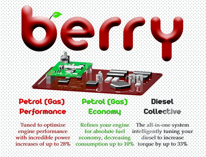 Worlds smartest car tune with bluetooth connectivity by Berry