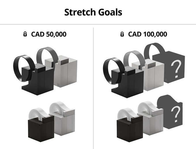 Unlock the color options! $50,000 for the silver. $100,000 for one more hidden option.