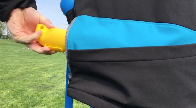 Backside Pocket with Zipper