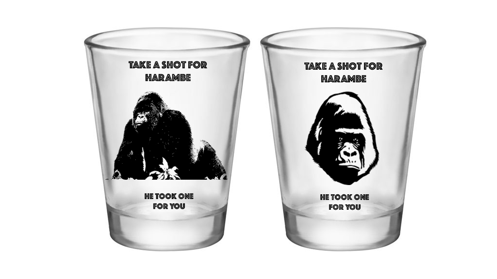 Shots for Harambe -- Because he took one for you project video thumbnail