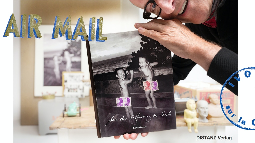 """PostCard Book """"from a distance to you"""" (Postkartenbuch) project video thumbnail"""