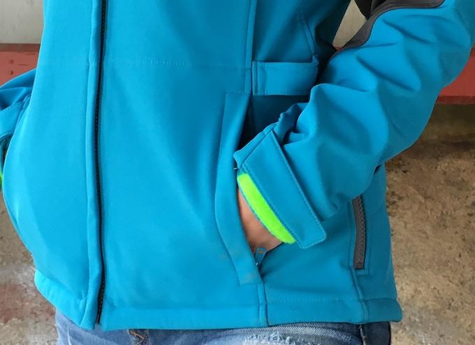 Standard Pockets with Zipper