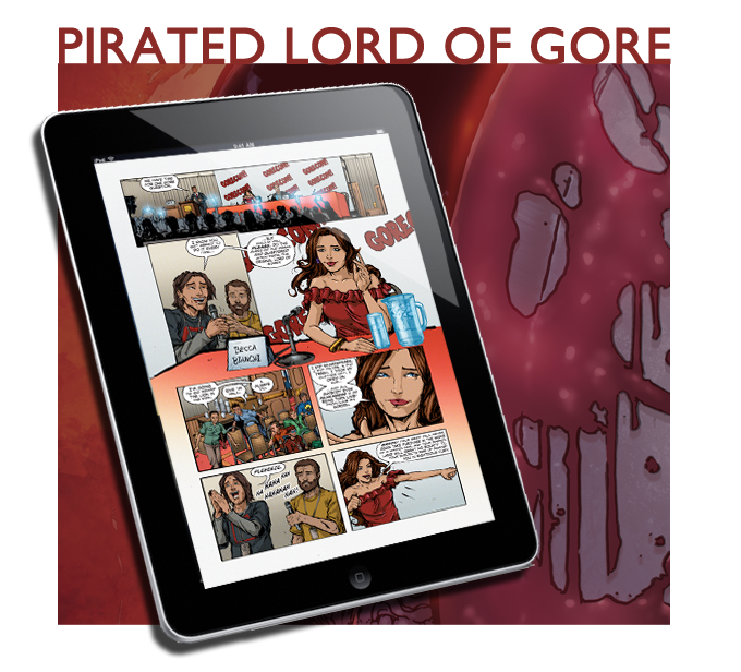 Digital Copies of Lord of Gore #1
