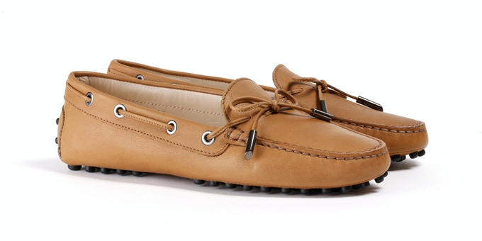 Women's Tan Mocassin