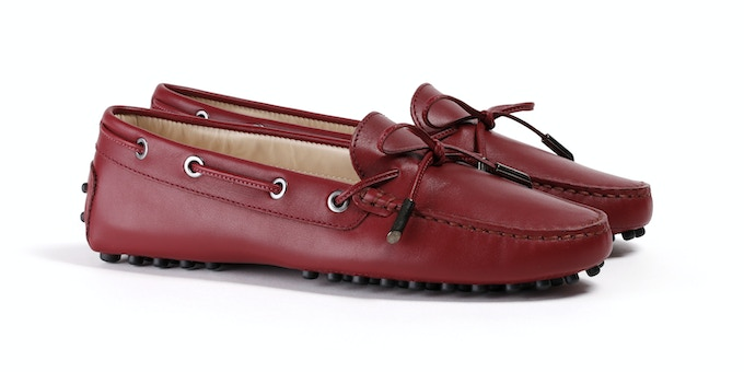 Women's Oxblood Mocassin