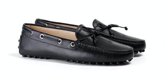 Women's Black Mocassin