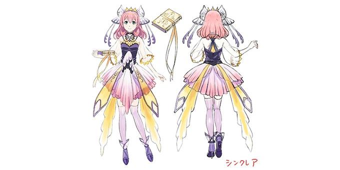Sinclair & Book Character Concept Art